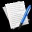 иконка текст, text, файл, документ, document, редактирование, редактировать, edit,