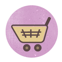 иконки  cart, корзина, тележка,