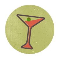 иконки martini, мартини,