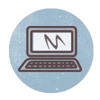 иконки laptop, лаптоп, ноутбук,