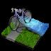 иконка triathlon, триатлон, велосипед,