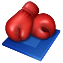 иконки boxing gloves, боксерские перчатки,  boxing,