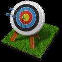иконки archery, мишень, стрельба из лука,