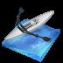 иконка rowing, гребля, лодка,