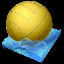 иконка waterpolo, водное поло, мяч,