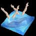 иконки swimming synchronized, swimming, плавание, синхронное плавание,