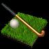 иконка field hockey, хоккей на траве,