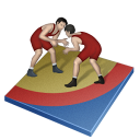 иконки wrestling freestyle, вольная борьба, борьба,