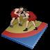 иконка wrestling freestyle, вольная борьба, борьба,
