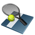 иконка tennis, теннис, ракетка,