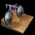 иконка cycling track, велотрек, велосипед,