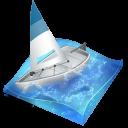 иконки sailing, парусный спорт, лодка, яхта,