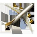 иконки aircraft, самолет, аэропорт, транспорт,