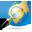 иконка explorer, find, search, обозреватель, поиск, интернет, планета,