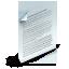 иконка sheet, paper, бумага, документ,