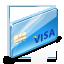 иконка visa, виза, card, кредитка, кредитная карточка,
