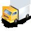 иконка truck, грузовик, машина, фура,