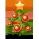 иконки  новый год, новогодняя елка, рождество,