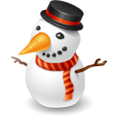 иконки снеговик, showman, новый год,