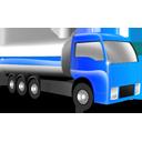 иконка tanker, грузовик, машина, цистерна, танкер,