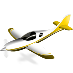 иконки plane, самолет, планер,