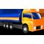 иконка грузовик, камаз, машина, цистерна,
