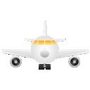 иконки aeroplane, airplane, fly, travel, аэроплан, самолет, полет, путешествие,
