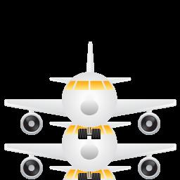 иконка aeroplane, airplane, fly, travel, аэроплан, самолет, полет, путешествие,