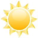 иконки sun, солнце,
