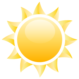 иконка sun, солнце,