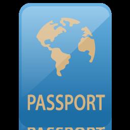 иконка passport, паспорт,