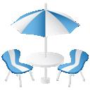 иконки furniture, фурнитура, кафе, столики, стол,