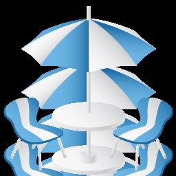 иконка furniture, фурнитура, кафе, столики, стол,
