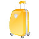 иконки suitcase, case, кейс, чемодан, желтый,