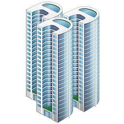 иконки company, компания, небоскреб, здание,