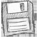 иконки disc floppy, дискета,