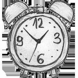 иконки clock, часы, будильник, время,