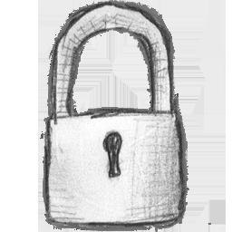 иконка locked, замок,