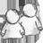 иконки users, пользователи, пользователь, юзер,