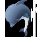 иконки dolphin, дельфин,