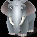 иконки elephant, слон,
