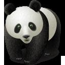 иконка panda, панда, animal, животное, животные,