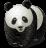 иконки panda, панда, animal, животное, животные,