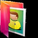 иконки folder pictures, папка, мои изображения,
