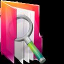 иконки folders searches, папка, поиск, folder,