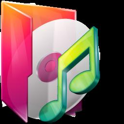иконка folder music, folder, папка, моя музыка,