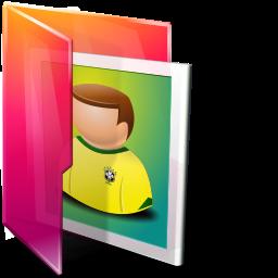 иконка folder pictures, папка, мои изображения,