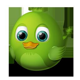 иконки audium, птичка, птица, bird,