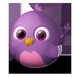 иконка pidgin, bird, птица, птичка,