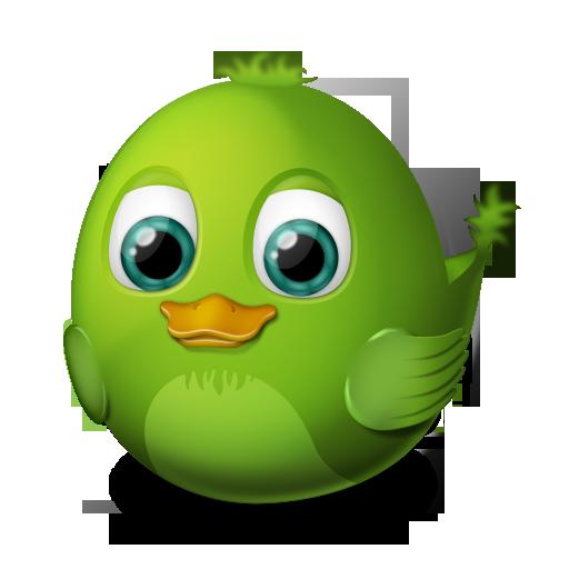 иконка audium, птичка, птица, bird,